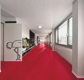 pavimenti in linoleum arte e parquet. Black Bedroom Furniture Sets. Home Design Ideas