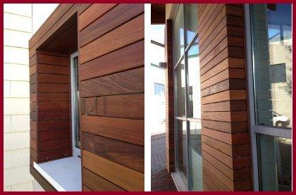 Rivestimento in legno per finestre arte e parquet - Rivestimento pareti interne in legno ...