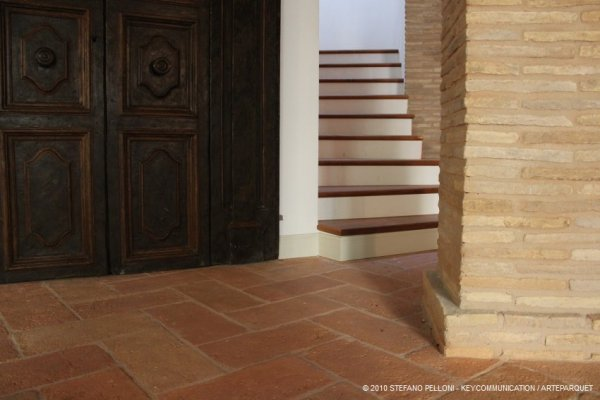 Scale su muratura in legno for Casa in legno o muratura